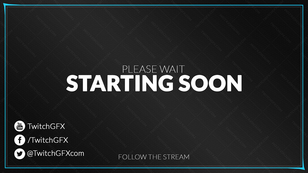 free twitch overlay template.html