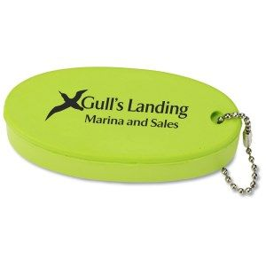 Keychains Will Float Your Promotional