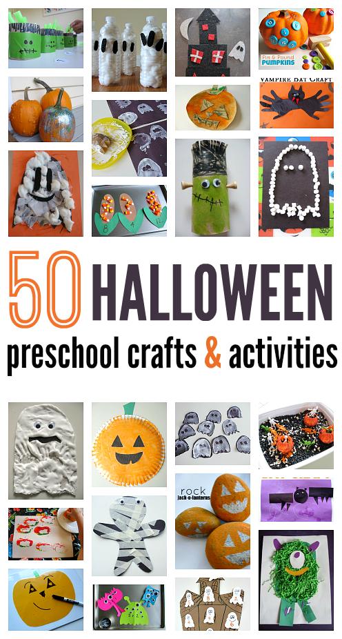 50 Halloween Craft Ideas For Preschool | Halloween | Pinterest ...