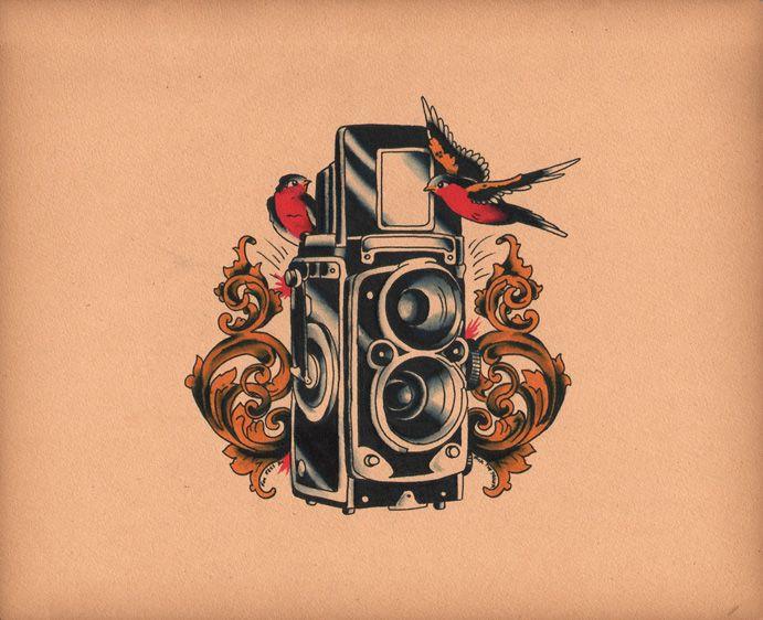 camera tattoo - Recherche Google