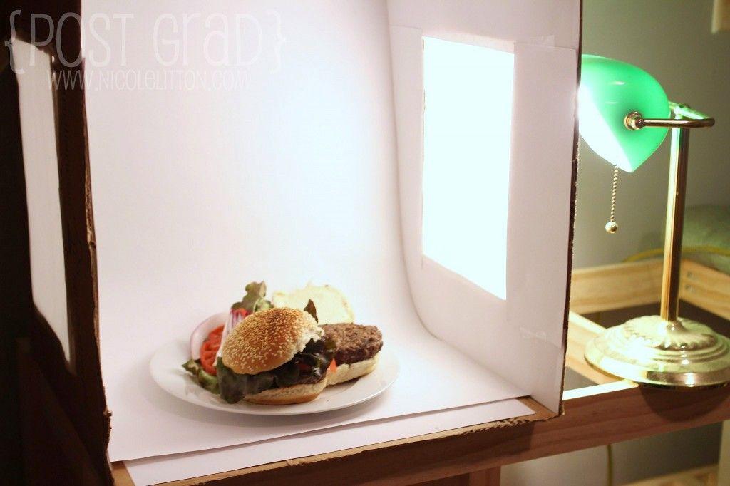 The secret to amazing food photography - DIY Photo Light Box   www.nicolelitton.
