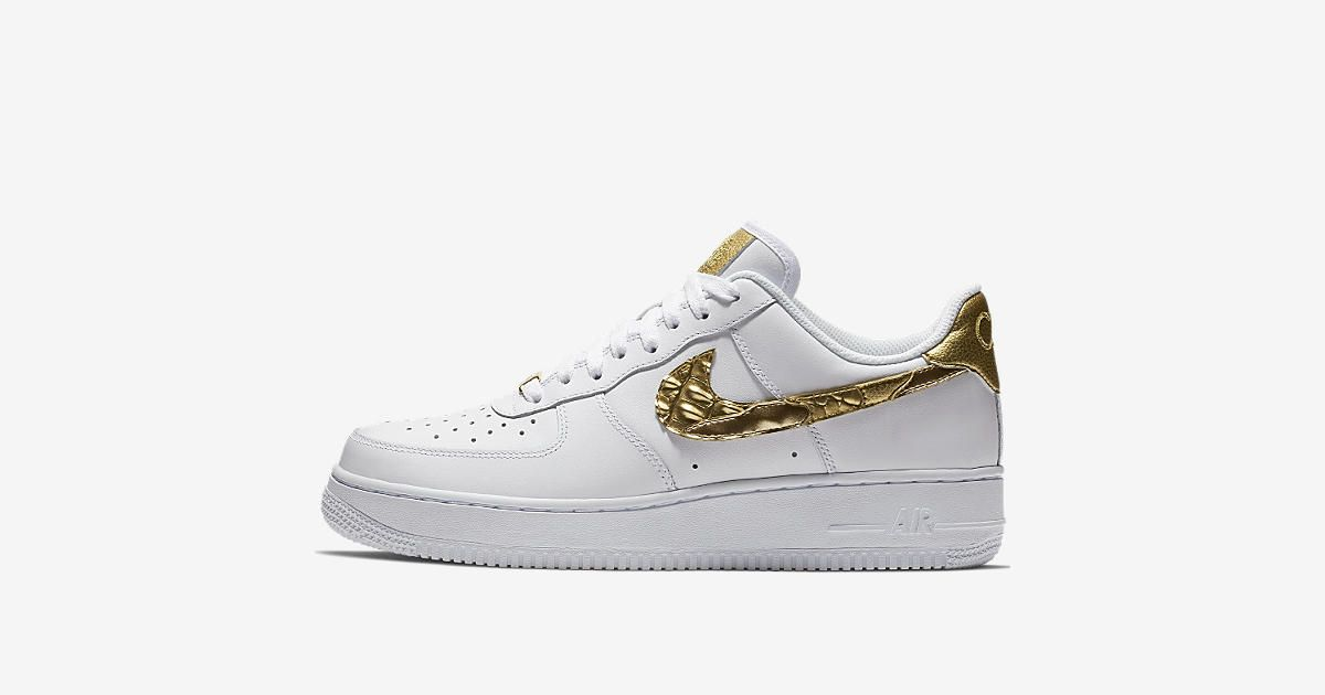 Explore And Buy The Nike Air Force 1 CR7 U0027Golden Patchworku0027. Stay A