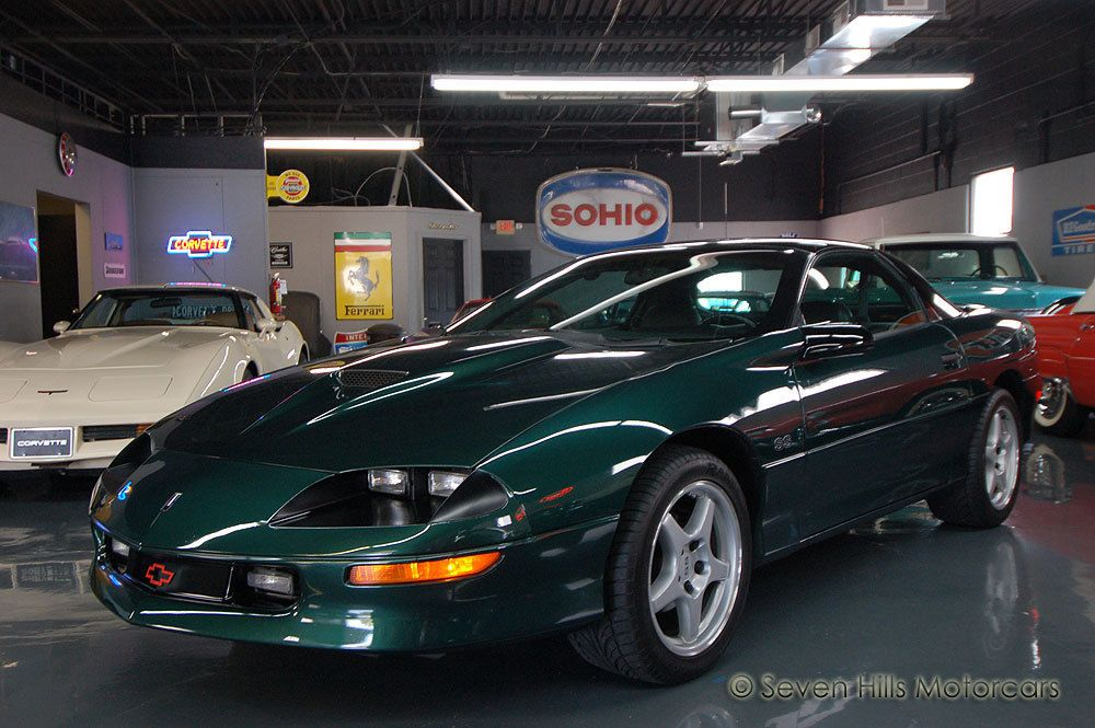 Exceptional Awesome Great 1996 Chevrolet Camaro Super Sport (SS) VERY LOW MILES,  Excellent Condition, 6 Speed, LOADED, Polo Green/Charcoal 2017/2018 Check  More At ...