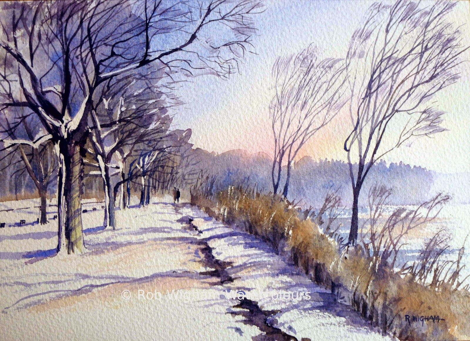 Another Gorgeous Work By Rob Wigham Watercolours Who Cares If