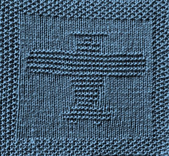Free Plane Dishcloth or Afghan Square Knitting Pattern ...