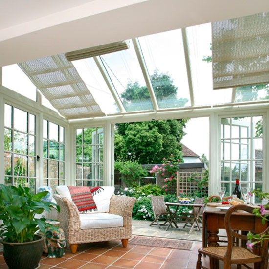 Country Conservatory Design Ideas