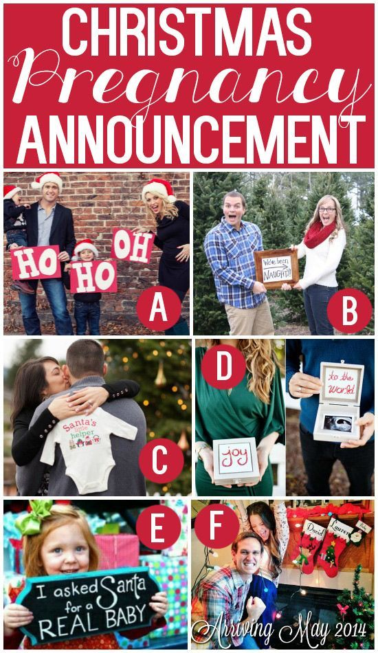 101 Creative Christmas Card Ideas. Fun Pregnancy AnnouncementChristmas ...