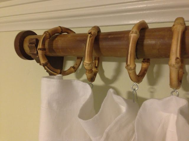 Sustainably Farmed Bamboo Curtain Rods Hand Finished With Zero