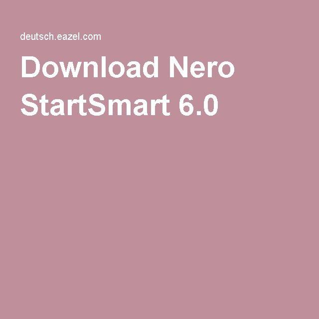 Download Nero StartSmart 6.0