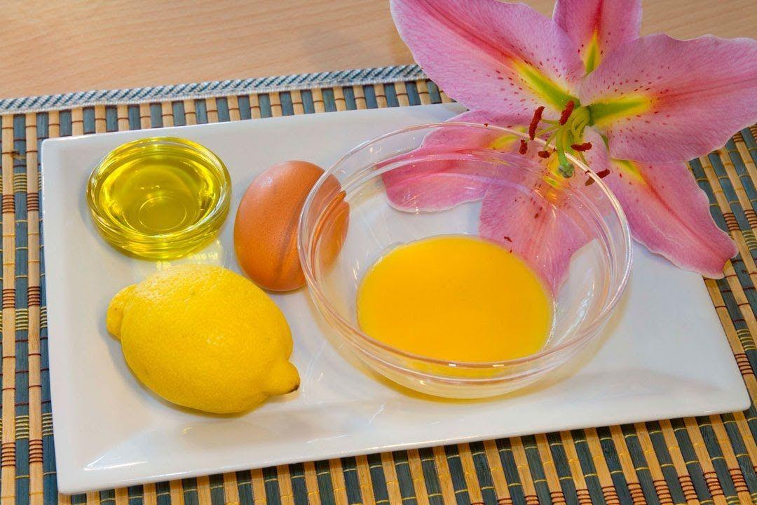 Mascarilla Rejuvenecedora con Productos Naturales Huevo