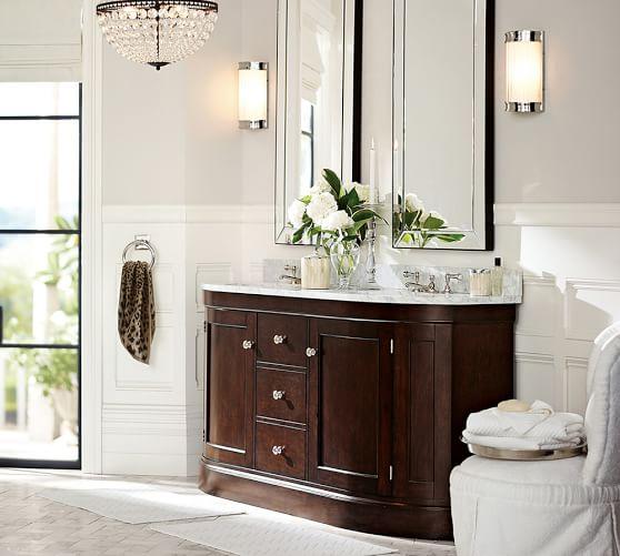 Astor Beveled Mirror Mirror Small Bathtub Bathroom Gallery