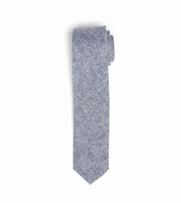 Necktie - Blue Chambray