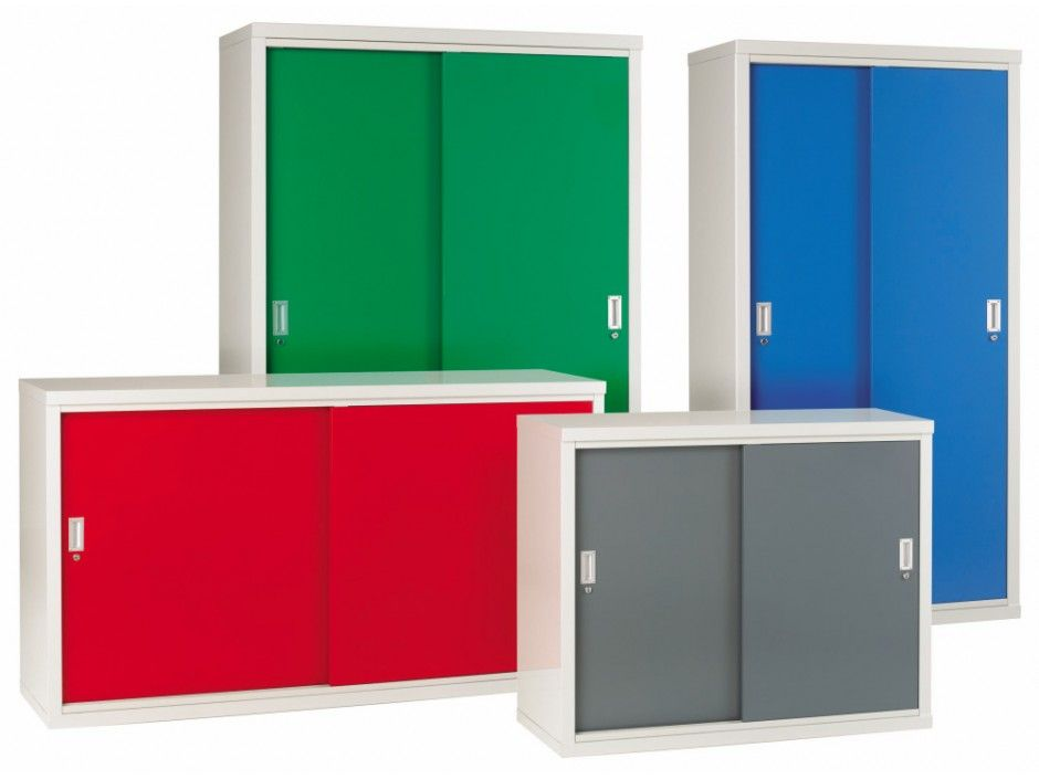 Storage Cabinets With Sliding Doors Cabinet H1020mm W1830mm D460mm Gp84084