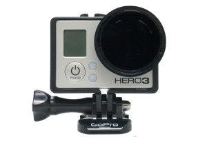 Polar Pro Slim Glass Filter Neutral Density Hero3 | GoHero