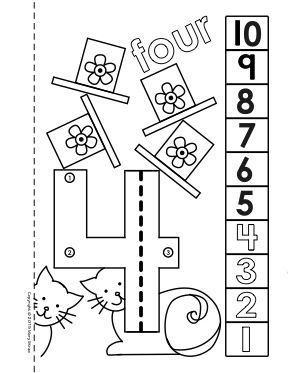 Dot To Dot Number Book 1 10 Activity Coloring Pages Dots