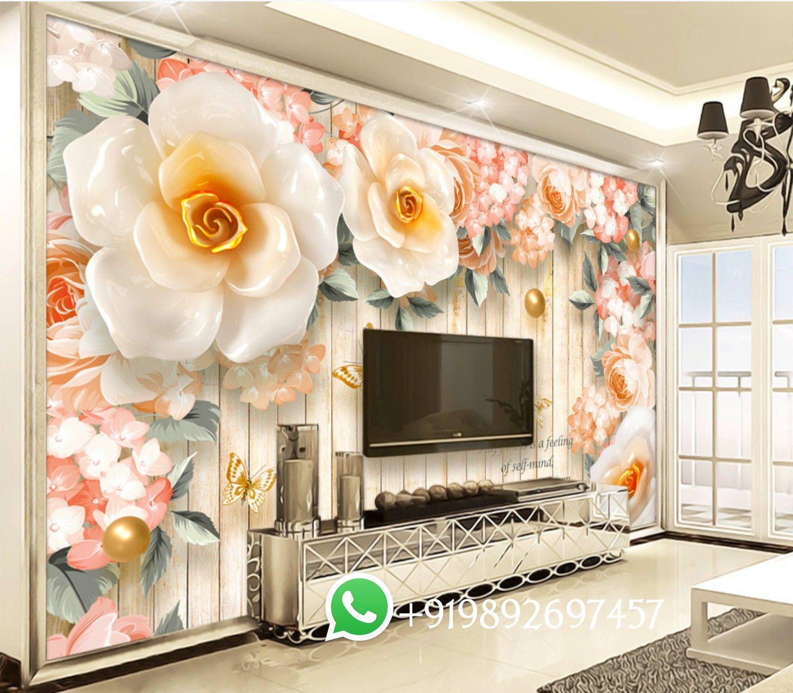 7d Wallpaper Design 7d Wallpaper For Tv Unit Design 7d Wallpaper For Living Room And Bedroom 2020 Wall Mural Wallpaper Wallpaper Living Room 7d Wallpaper 3d wallpaper for living room india