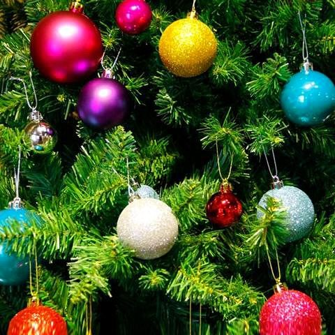Buy 24 PCS Modern Christmas Tree Ball Baubles Xmas Party Wedding Hanging Ornament Decoration Supplies At Wish
