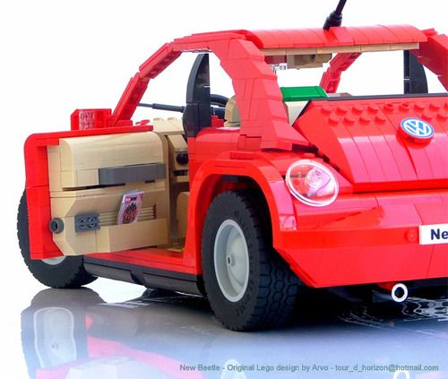Lego Design By Arvo My New Beetle In A Whole New Light Studio