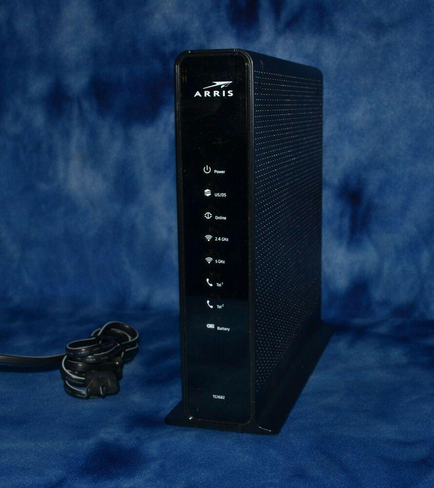 Arris TG1682G Xfinity Wireless Dual Band WiFi Router