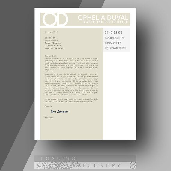 Best cover letter template - my resume looks so much more - how a resume looks