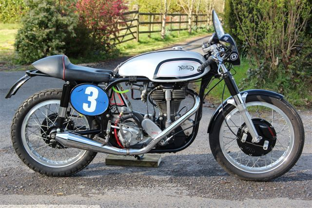 Norton Manx 1960 Inter engine