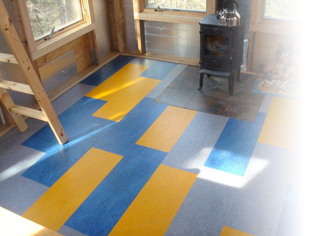Marmolium marmoleum linoleum podlahy kutil the kitchen