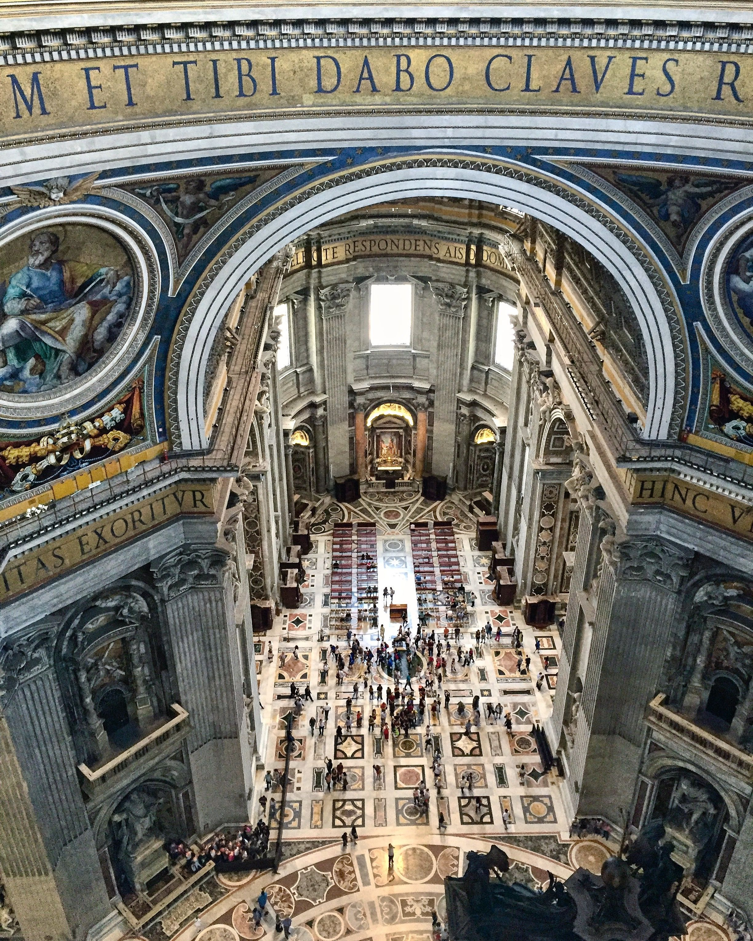 St. Peter's Basilica From Above. Vatican City. . #travel