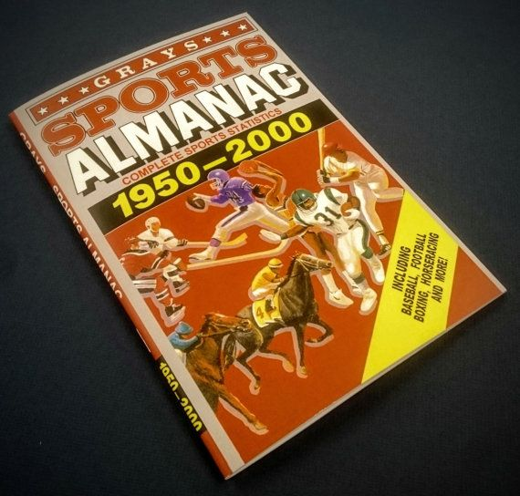 Grays Sports Almanac From Back To The Future 2 Movie Prop Replica