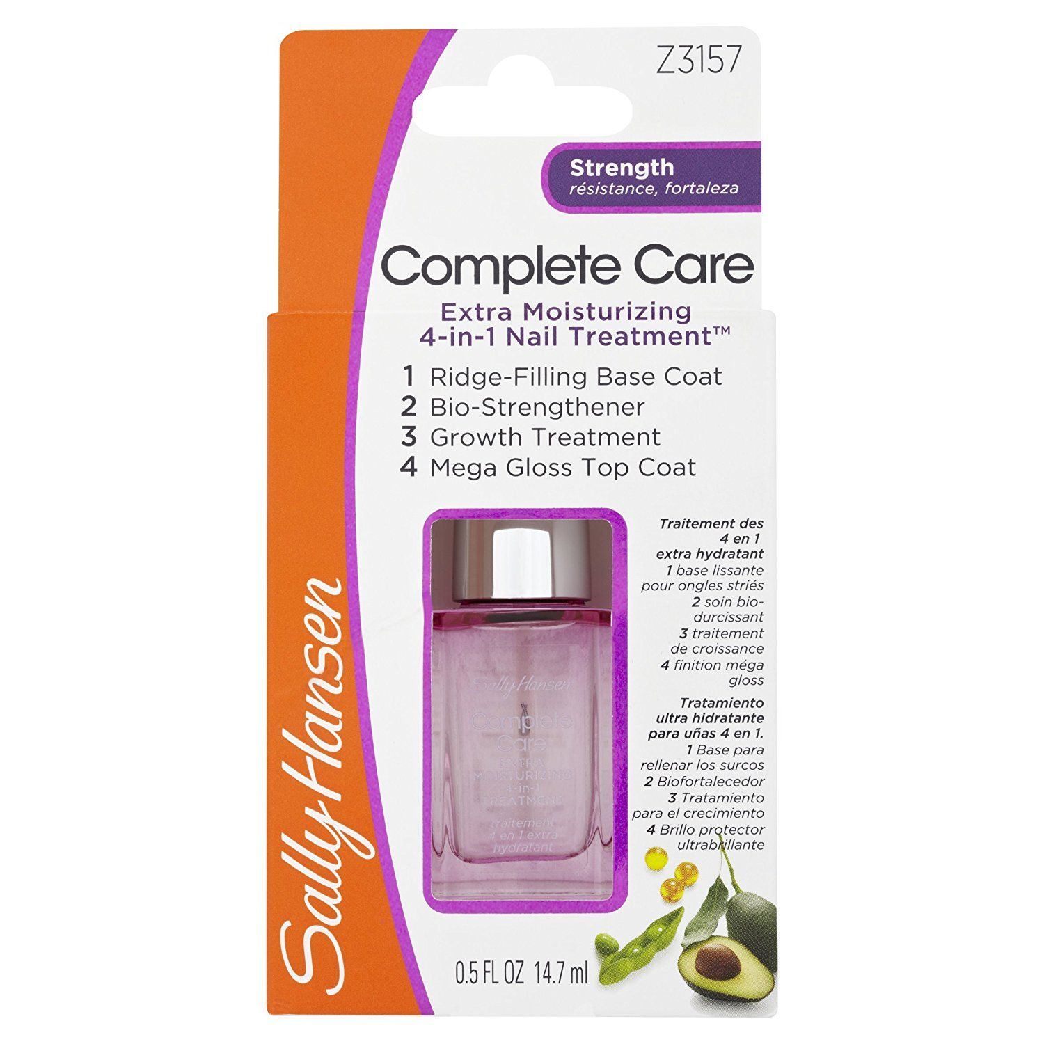 Sally Hansen Complete Care Extra Moisturizing Strength 3157 Clear You Can Get More Details Here Skin Care Sally Hansen Sally Beauty Supply Care