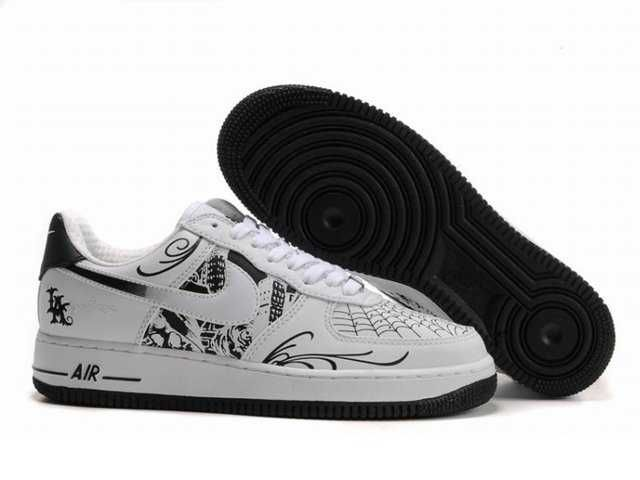 nike air force 1 black and white uk