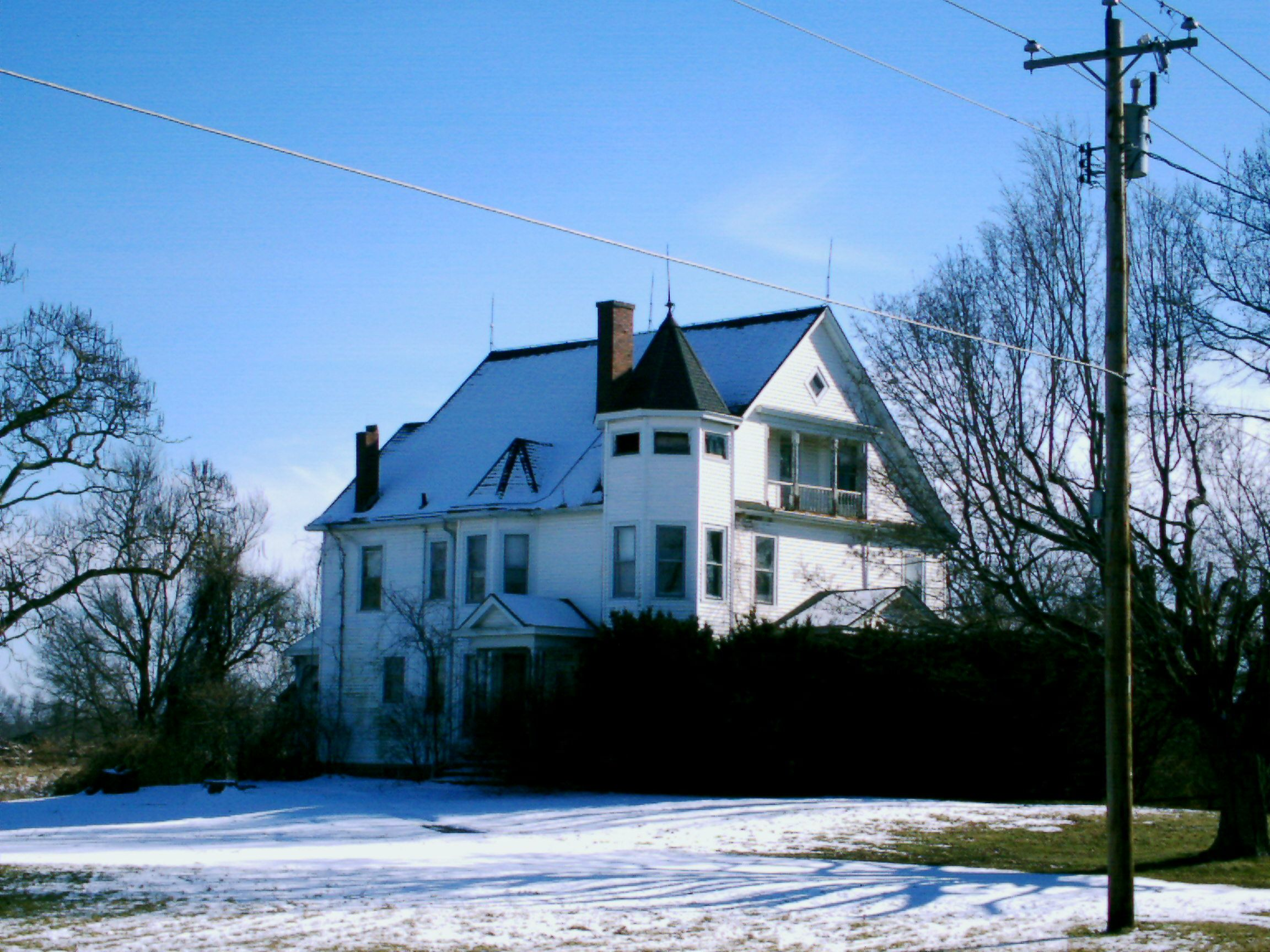 Mt. Orab, OH (Brown County) - A neat old house on U.S. 68 south of ...