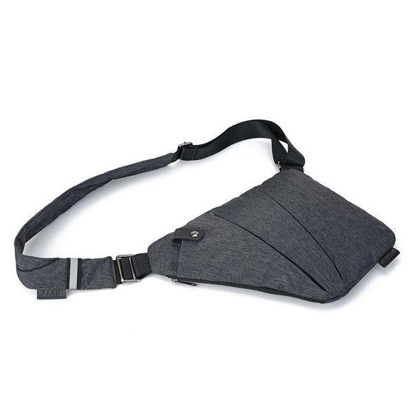 Burglarproof Oxter Outdoor Sport Chest Bag Dacron Digital Storage Bag For Men