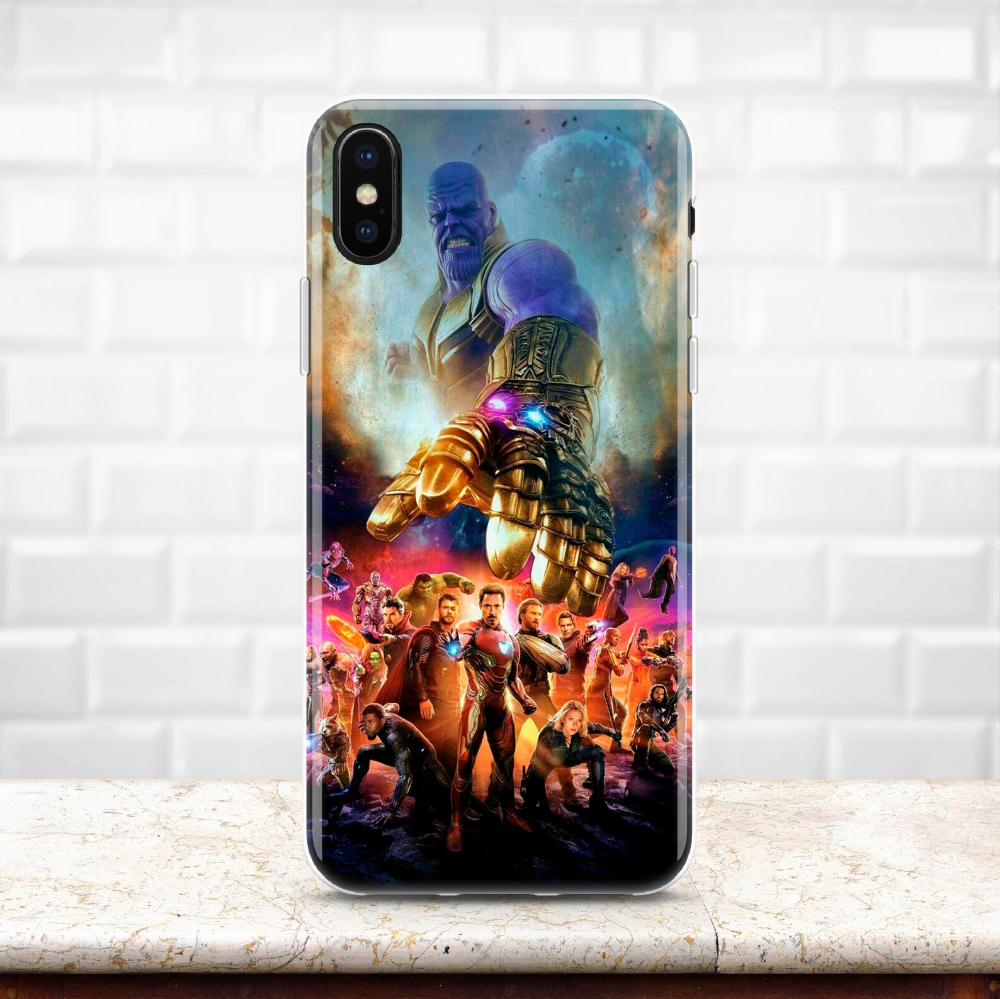 Inspired by Avengers iPhone XS Max case Marvel Samsung S10