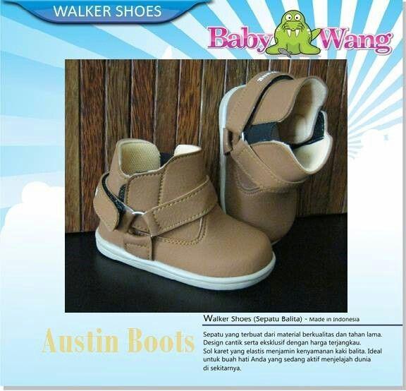 Sepatu Anak Baby Wang Austin Boots 105ribu Size Ukuran Sol