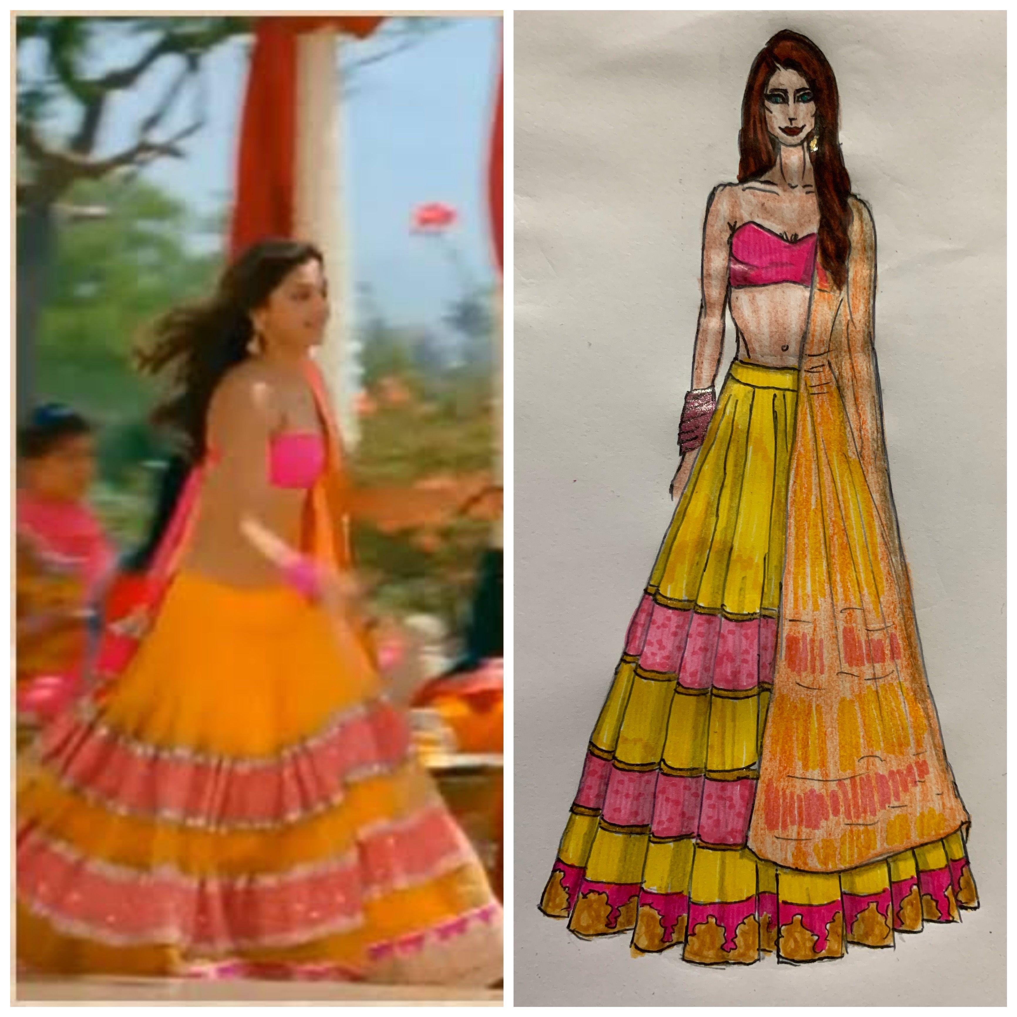 Deepika Padukone YJHD Yellow Lehenga | Fashion ...