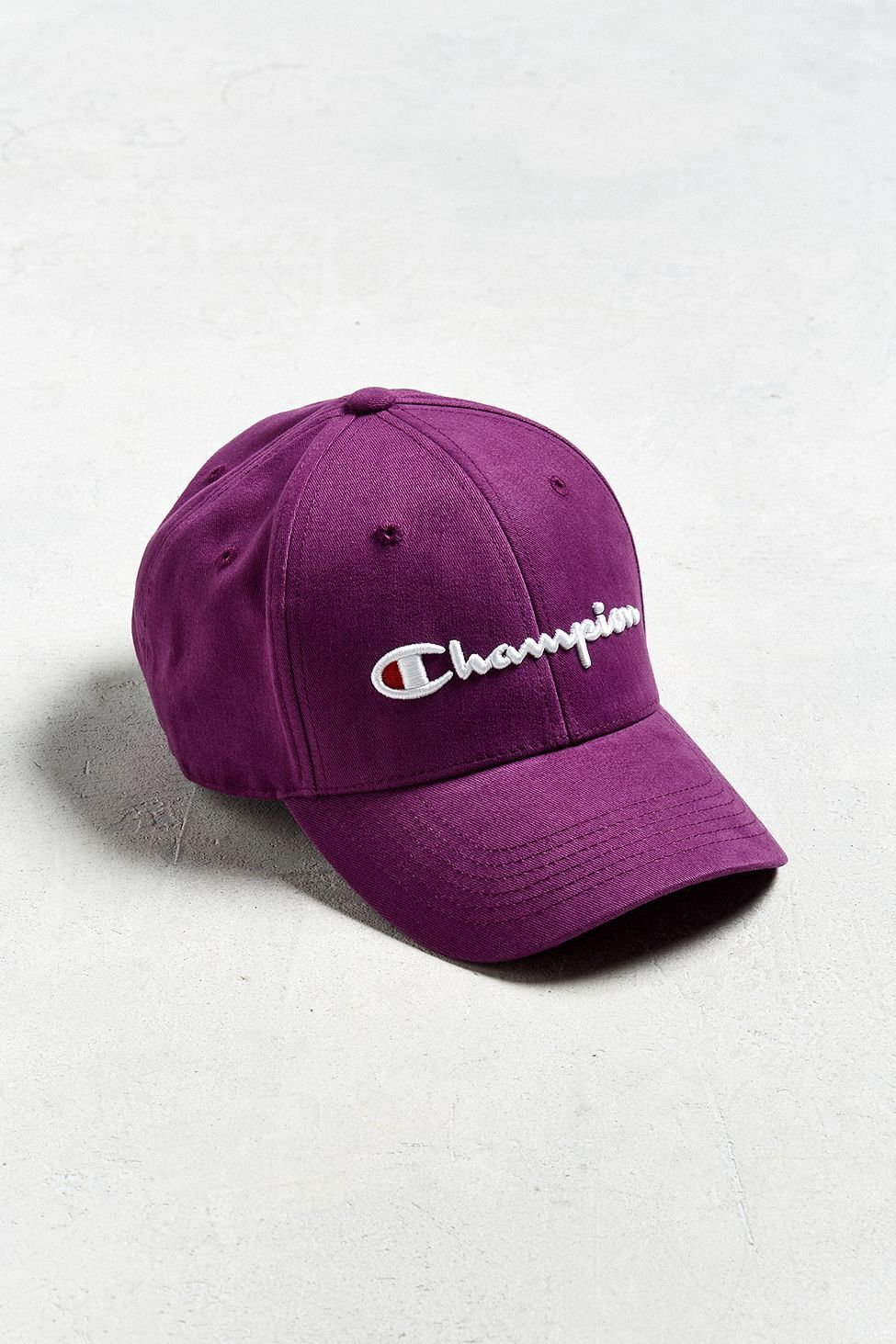 Urban Outfitters Champion Uo Baseball Hat Purple One Size Baseball Hats Hats Baseball Sunglasses