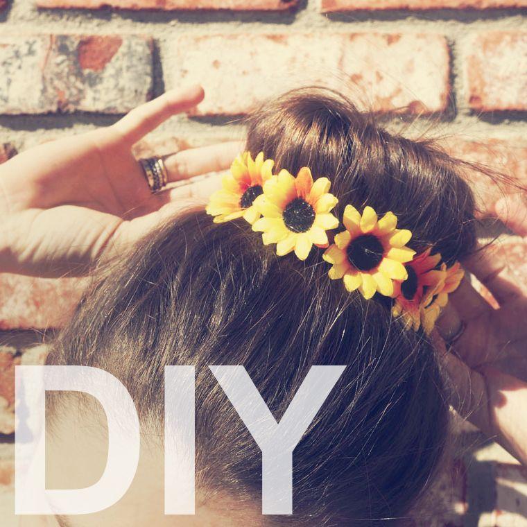 Cool Diy Hair: GUEST POST: DIY FLORAL BUN WRAP