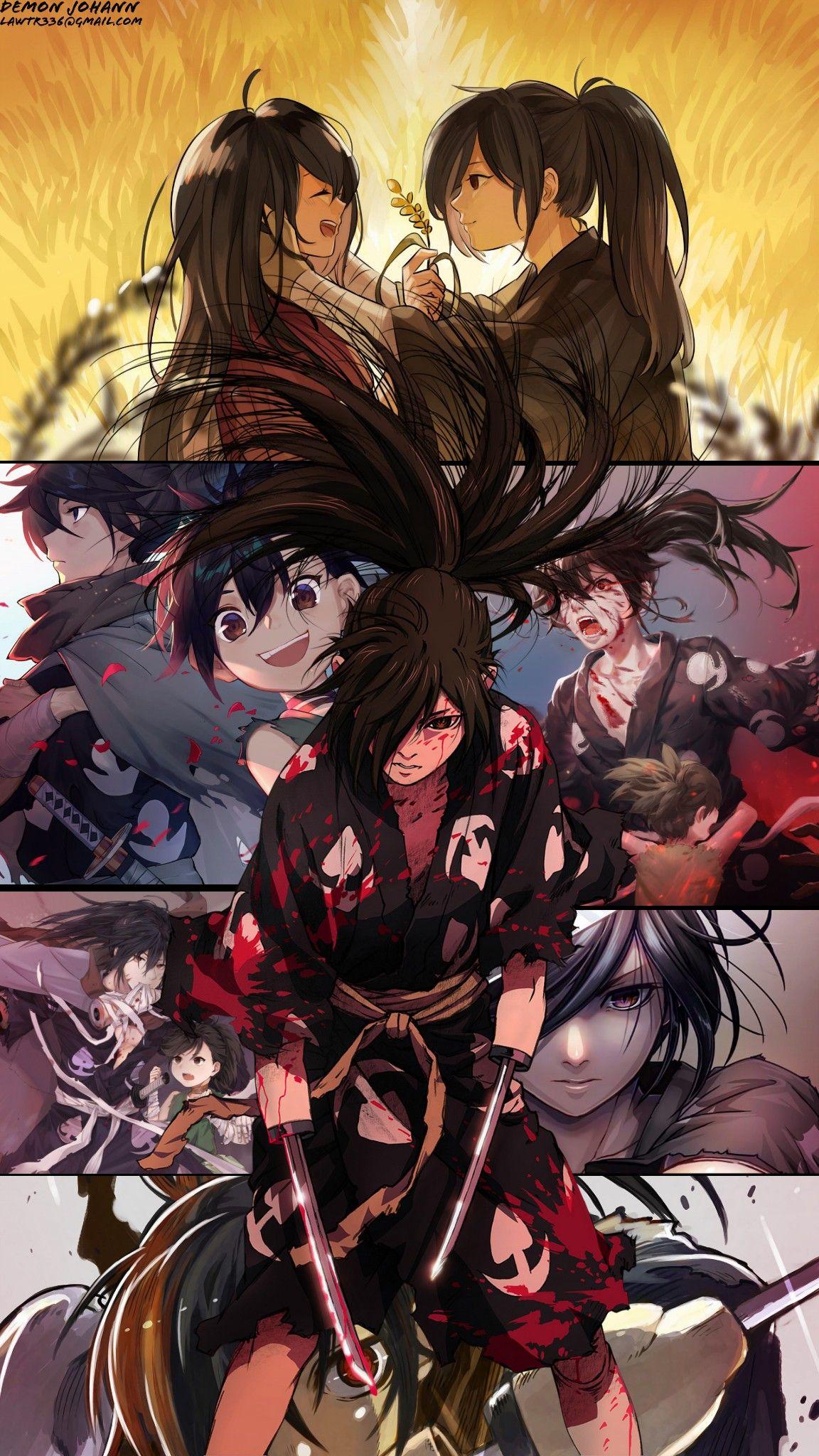 Hyakkimaru Dororo Anime In 2020 Anime Anime Shows Dark Anime