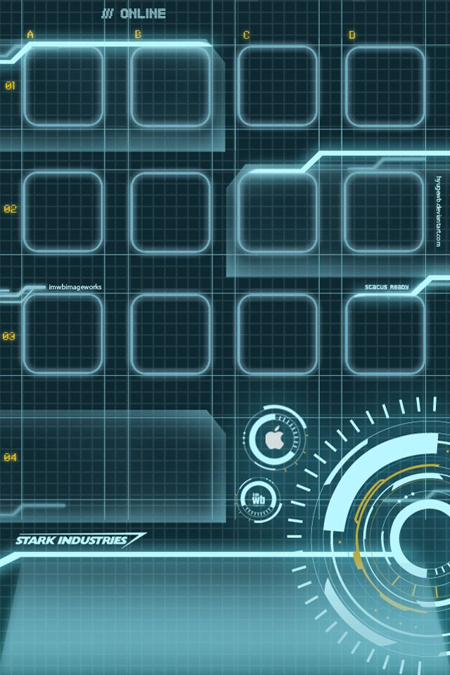 Iron Man Hud Iphone Wallpaper Iphone Wallpaper Pinterest