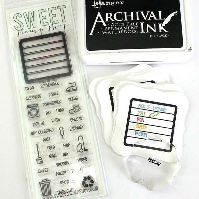 Project Created By Designer Kristie Larsen Using The Sweet Stamp