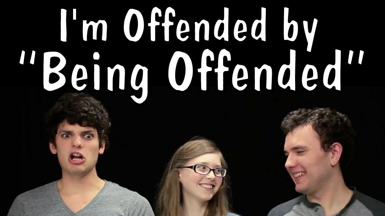 Messy Mondays: Im Offended by Being Offended, via YouTube.