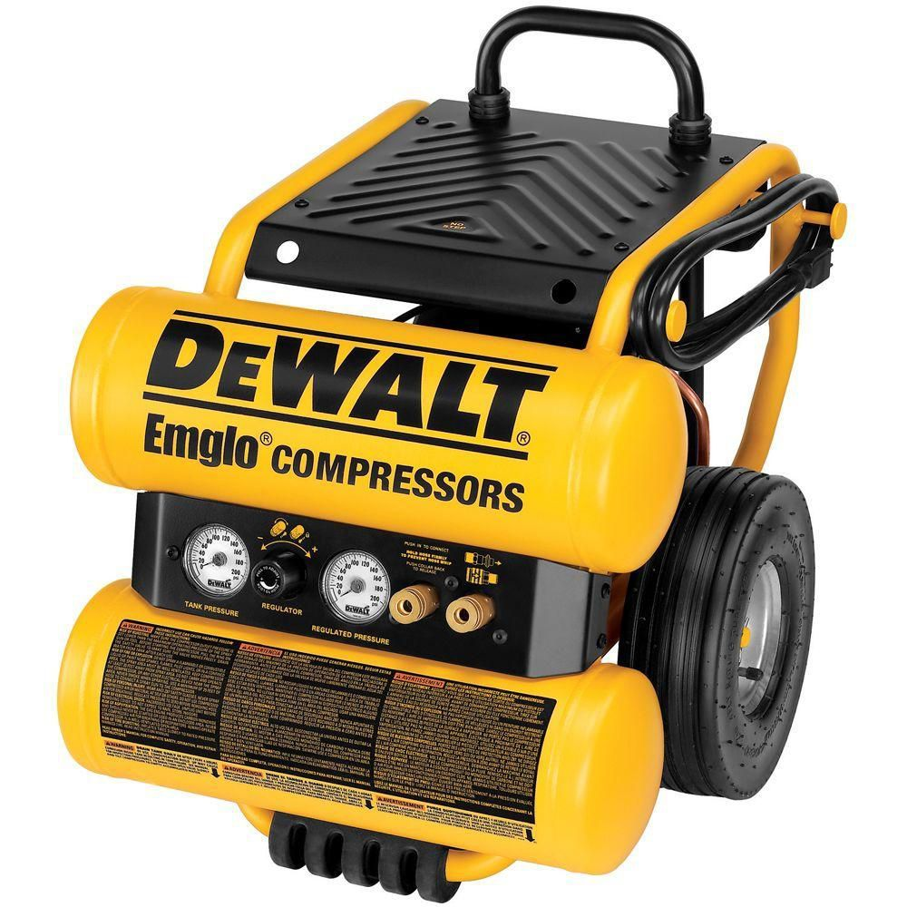 4Gallon Electric Dolly Style Compressor Used