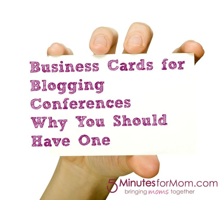 The Importance of the Business Card at Blogging Conferences ...