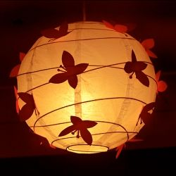 Girls room butterfly paper lamp shade for the home pinterest girls room butterfly paper lamp shade mozeypictures Choice Image