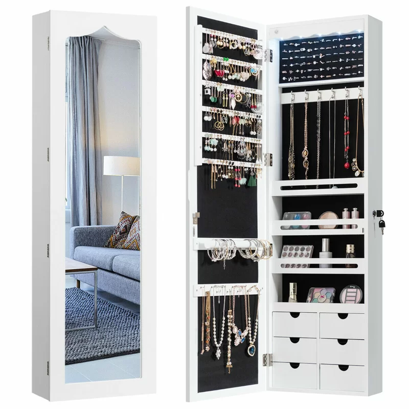 19++ Jewelry armoire with mirror and drawers ideas in 2021
