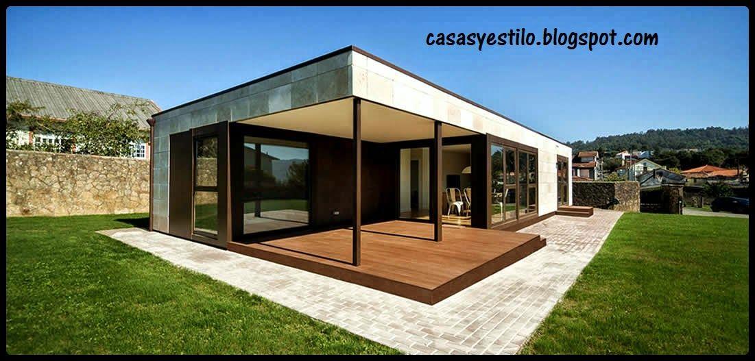 CASA PREFABRICADAS | proyectos | Pinterest | Casa prefabricada