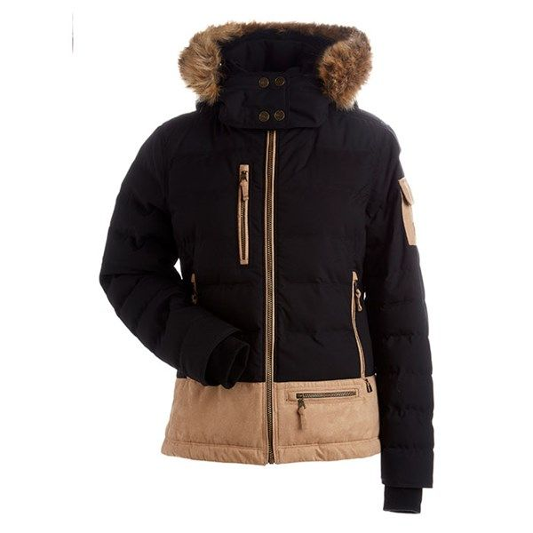 457d57a284e Nils Women s Sasha Faux Fur Insulated Ski Jacket