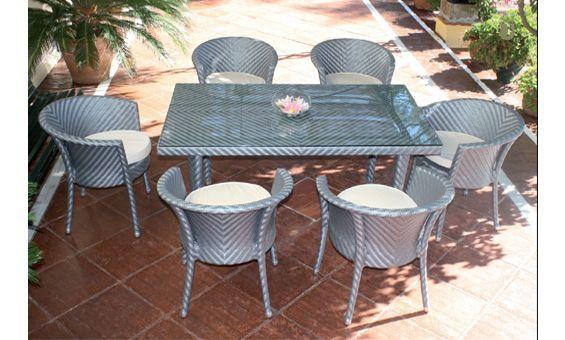 Mobiliario De Jardin Y Terraza De Majestic Garden Mesa