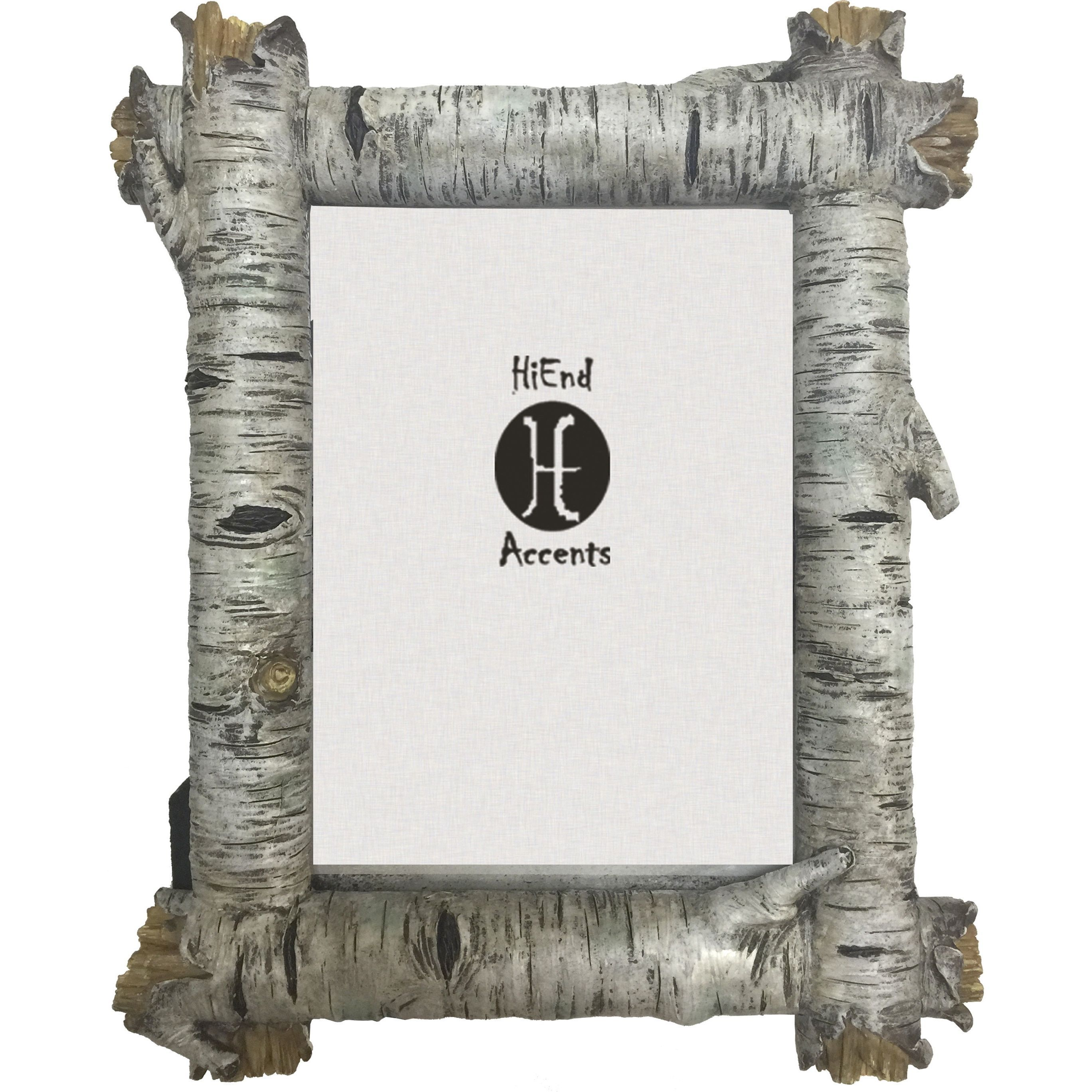 HiEnd Accents Birch Log Frame (Multi - 5x7) (Plastic) | Products ...