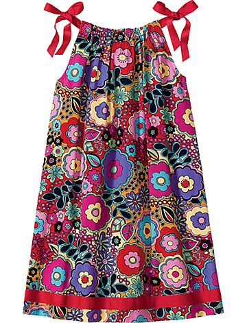 last summer\'s pillowcase dress... wish it would fit this year, maybe ...